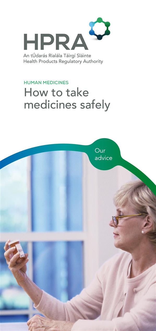How to take medicines safely_Cover